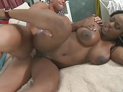Jada Fire Spreads Her Twat for Dick!